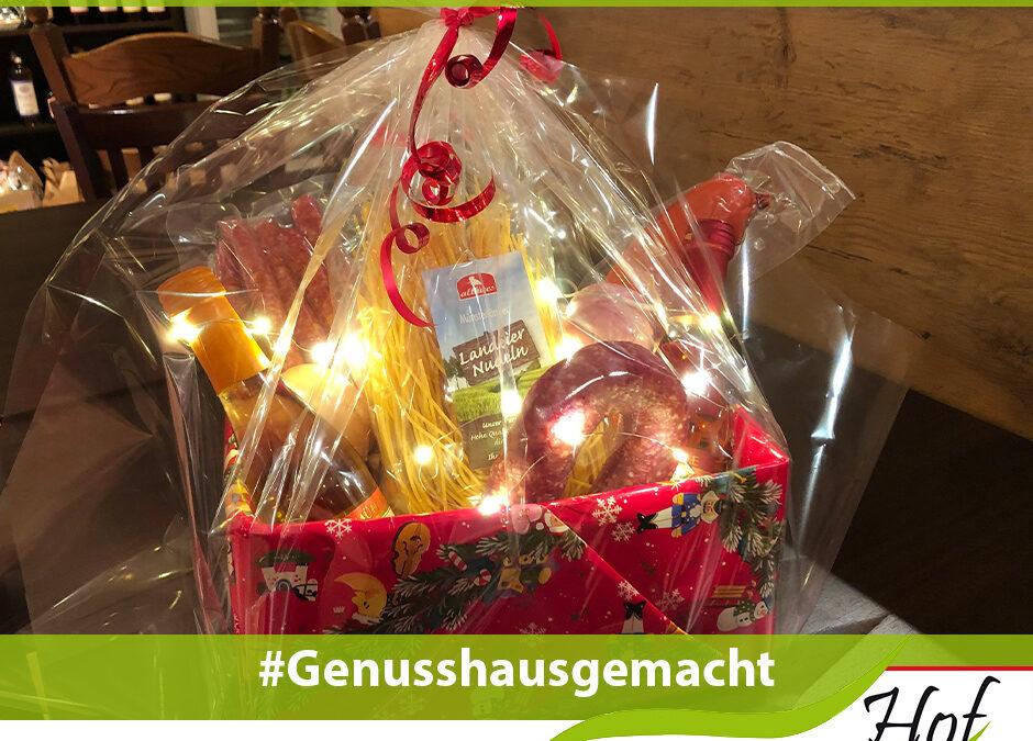 Foto zum Gewinn eines Präsentkorbes von Hof Schneider in Datteln am Jammertal